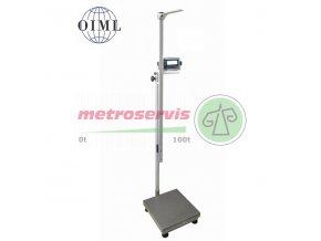 Osobní lékařská váha 1T4040LOV150RWP BASIC 60 150 kg