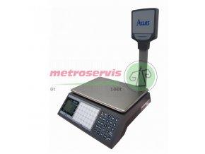 ACLAS PS1 15DS váha s tiskem etiket s nožkou 6 15 kg