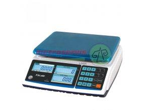 Obchodní váha s výpočtem ceny TSCALE ZTP 6 15 kg