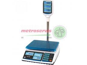 TSCALE ZTP obchodní váha s výpočtem ceny s displejem na stativu 6 15 kg