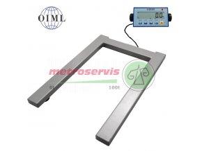 P4T0812LA12 2000BASIC Paletová váha 2 t