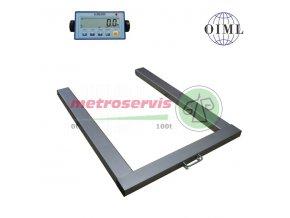 Půjčovné paletové váhy do 2000 kg - měsíc
