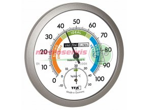 TFA 45.2042.50CZ analogový vlhkoměr, teploměr