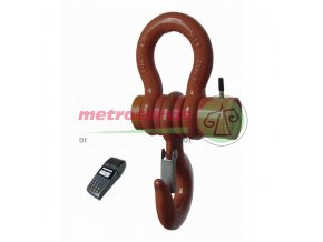 JDV-P, 30 t /10 kg jeřábová váha