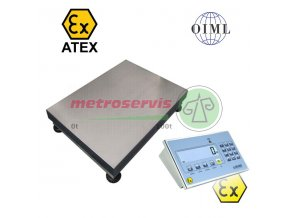 1T4560LNDFWLKI3GD300 Můstková váha do výbušného prostředí 300 kg
