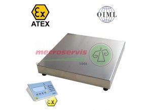 1T8080LNDFWLKI3GD300 Můstková váha do výbušného prostředí 300 kg - cena na dotaz
