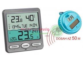 TFA 30.3056.10 bazénový teploměr se solárním panelem a bezdrátovým čidelm Metroservis