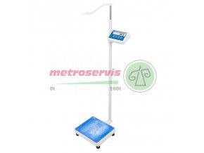 WPT 60/150.OW osobní váha s výškoměrem Radwag 60/150 kg-M