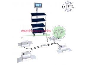 4TVPLBW300 nemocniční vážní patky s pojezdovým lůžkem 300 kg