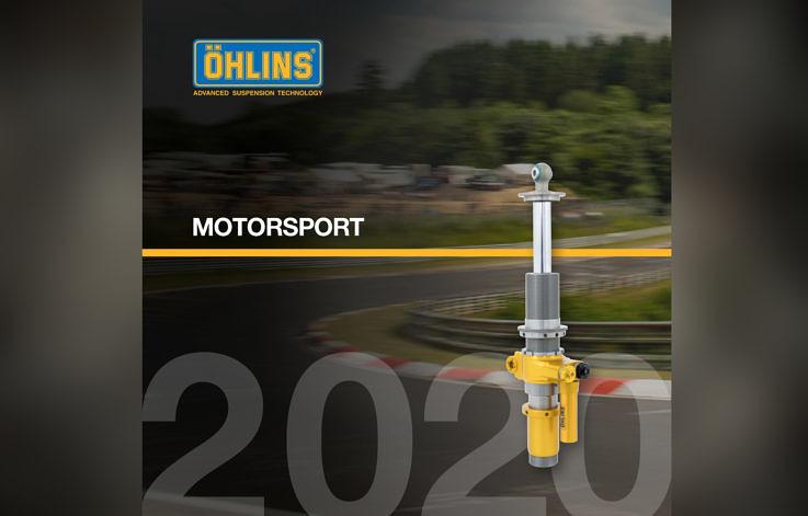 Aktuální katalog tlumičů pro motorsport