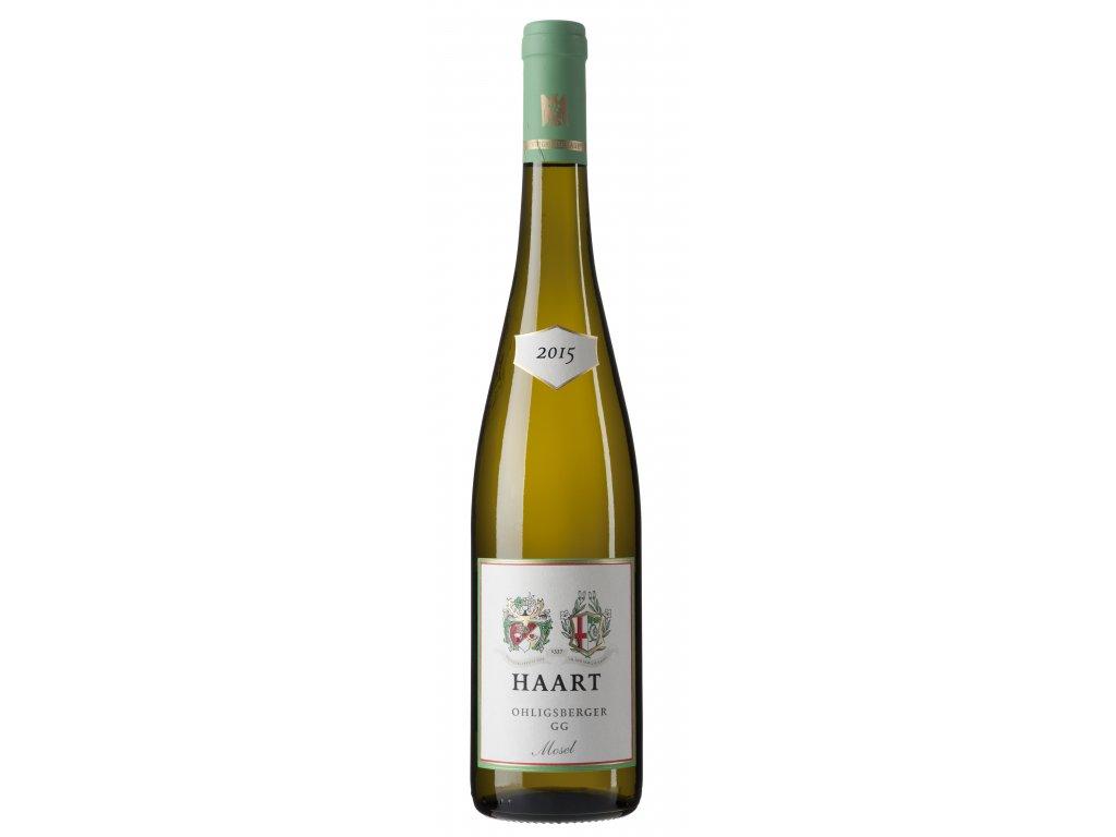 weingutreinholdhaart 2015 Ohligsberger GG bottleImage haart ohligsberger gg 2015 2310