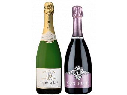 Reichsrat Von Buhl Spätburgunder Rosé & Champagne Pierre Paillard Grand Cru Brut