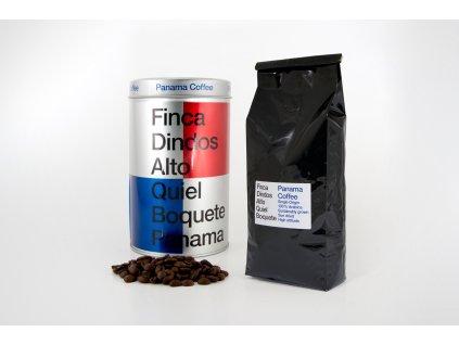 Plechovka panamské kávy FINCA DINDOS