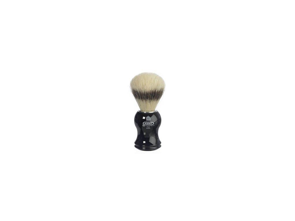 Štětka na holení Kent Black Pure Bristle