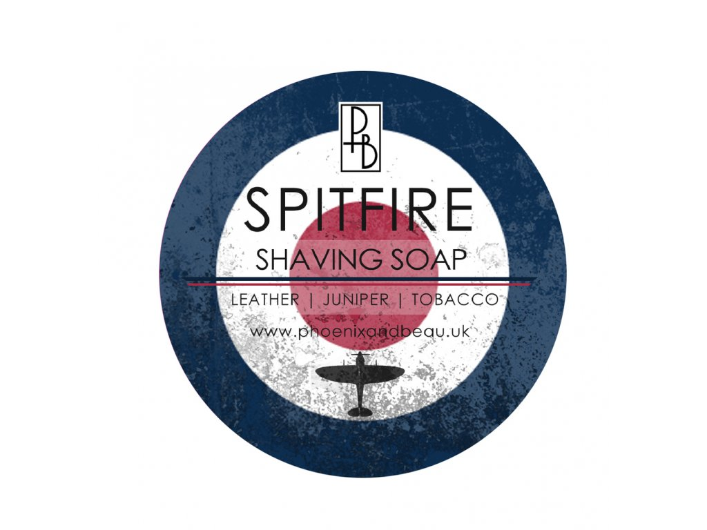Mýdlo na holení Phoenix and Beau Spitfire 115 g