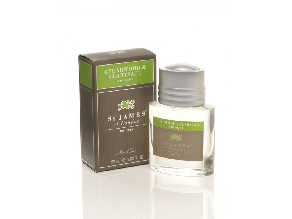 Kolínská voda Cedarwood & Clarysage St James of London 50 ml