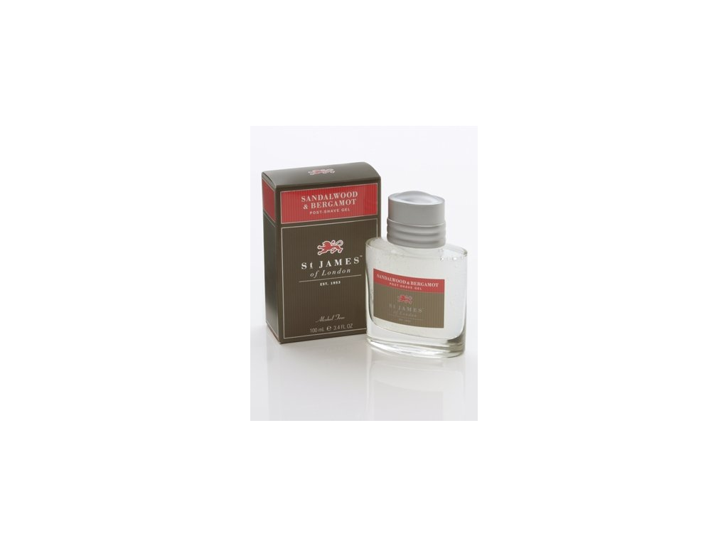 Gel po holení St James of London Sandalwood & Bergamot 100 ml