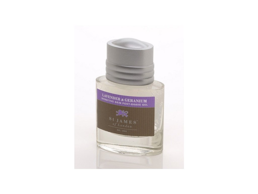 Gel po holení St James of London Lavender & Geranium 50 ml
