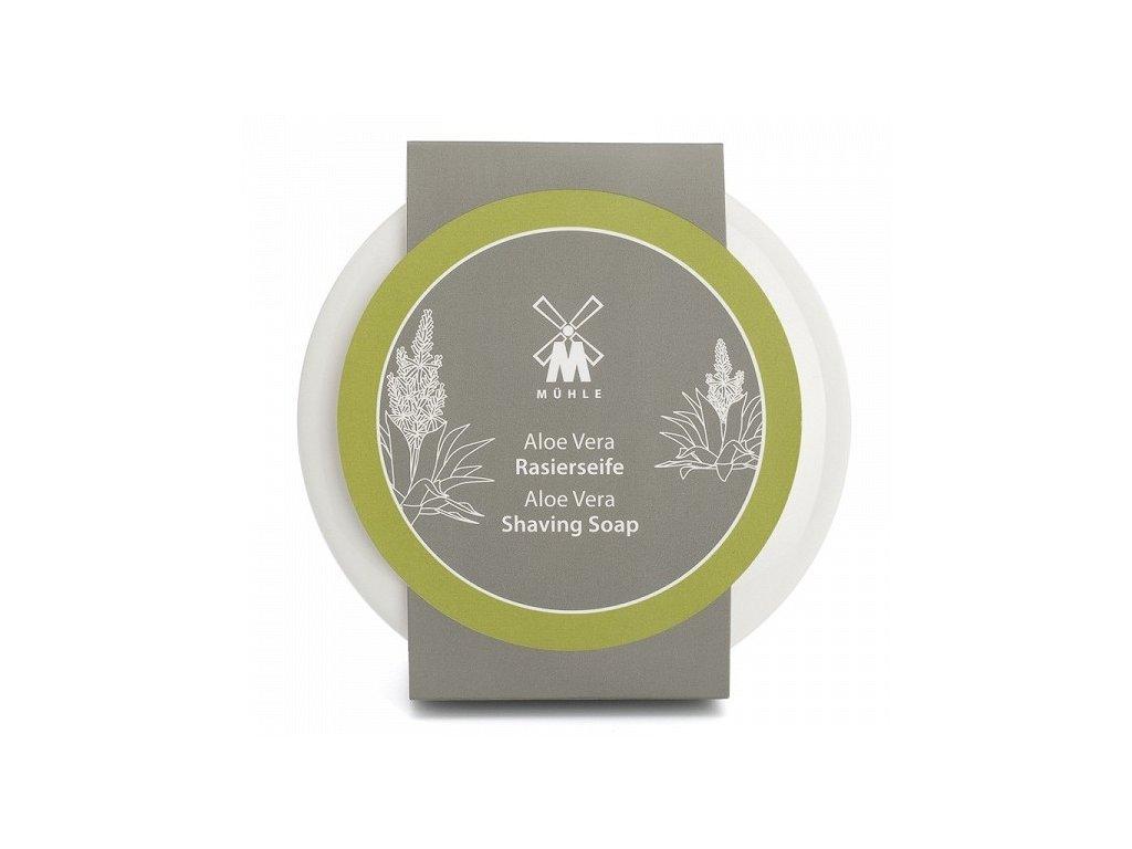 Mýdlo na holení v porcelánové misce  Aloe Vera Mühle 65 g