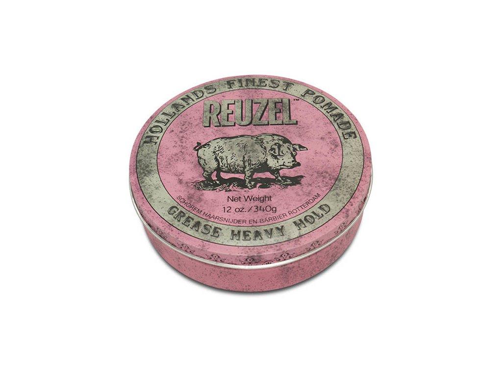 Pomáda na vlasy Pink Grease Heavy Hold 340g Reuzel