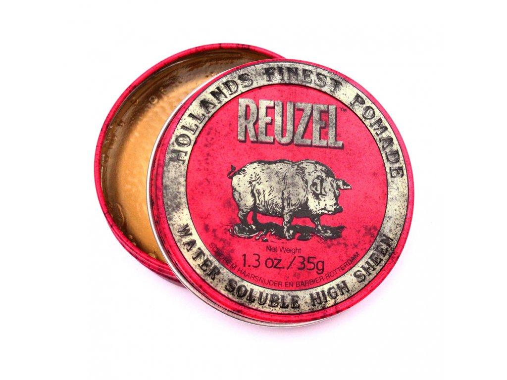 Pomáda na vlasy Red W/B High Sheen Pig 35g Reuzel