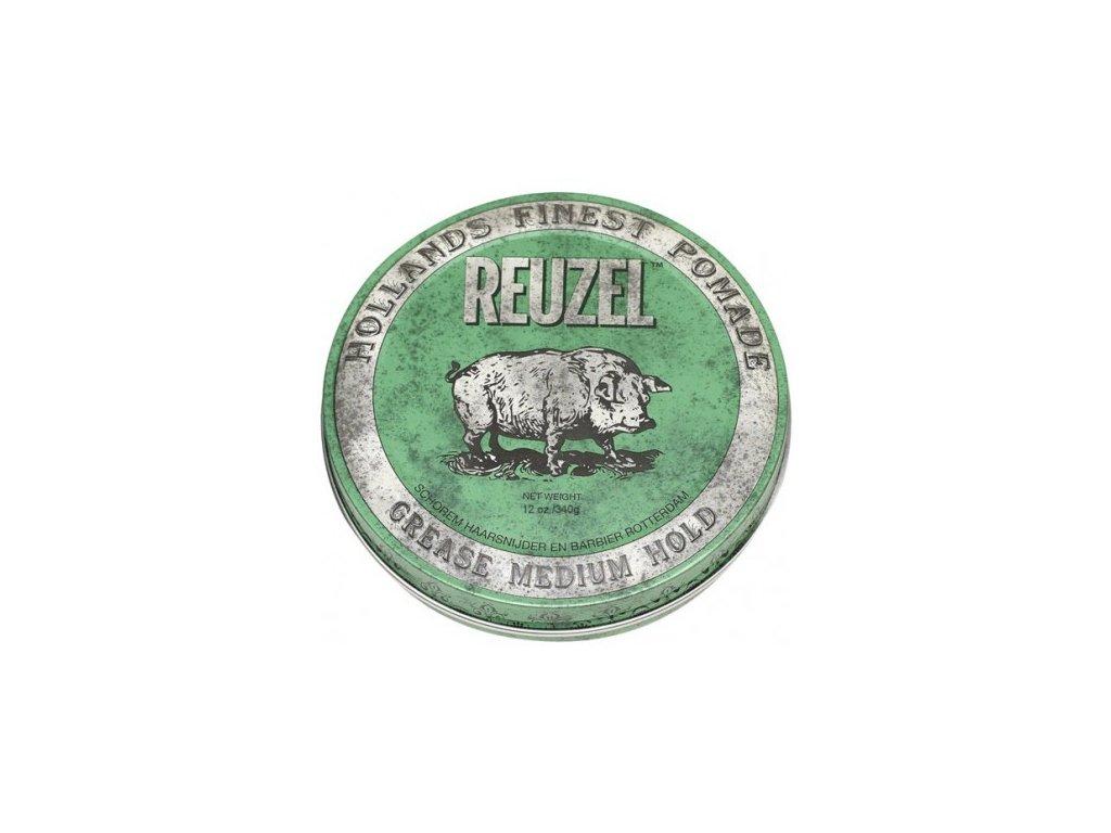 Pomáda na vlasy Green Grease Medium Hold 340g Reuzel