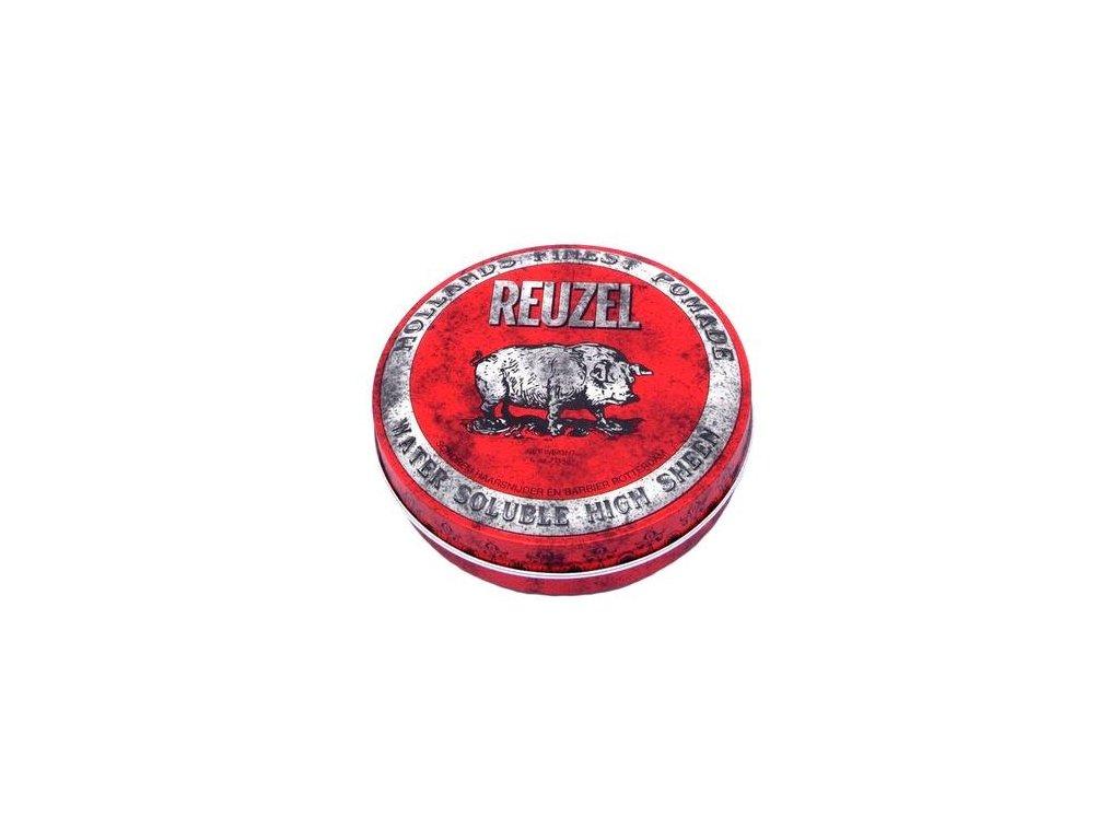 Pomáda na vlasy Red W/B High Sheen Pig 113g Reuzel