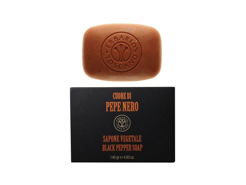 Mýdlo Erbario Toscano černý pepř 140 g