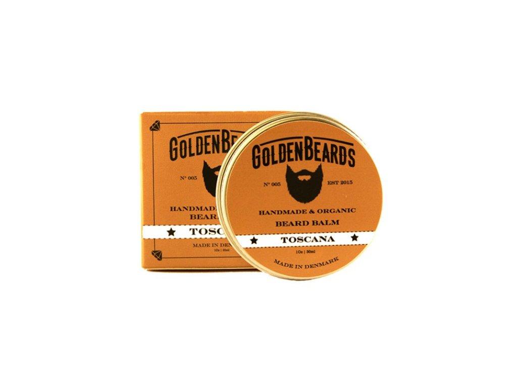 Balzám na vousy Golden Beards Toscana 30 ml