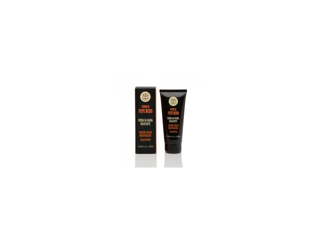 Krém na holení Černý pepř Erbario Toscano 100 ml