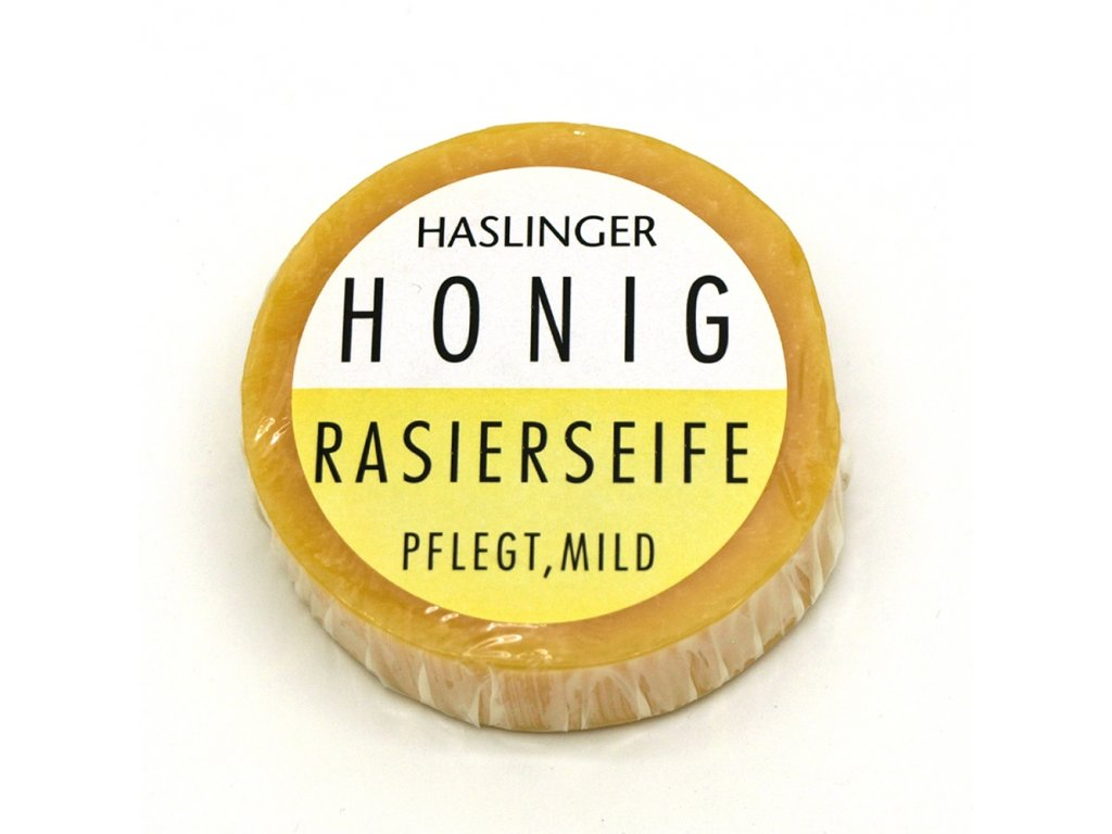Mýdlo na holení Haslinger Honey 60 g