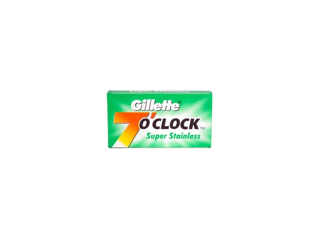 Žiletky na holení 7 Oclock Super Stainless Gillette (5 ks)