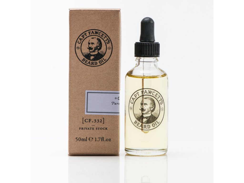 Olej na vousy Captain Fawcett Private Stock 50 ml