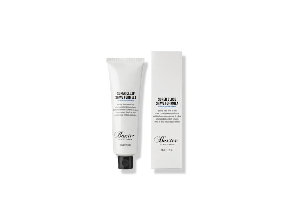 Krém na holení Baxter Super Close Shave Formula 120 ml
