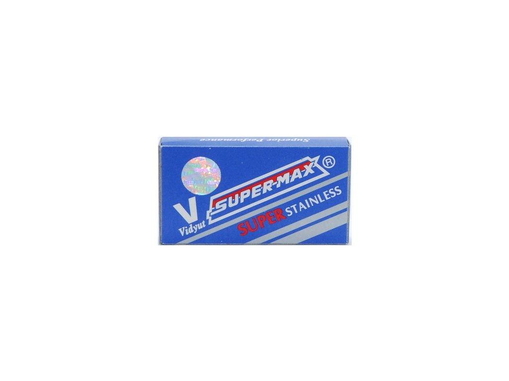 Žiletky na holení Super-Max Super Stainless (10 ks)