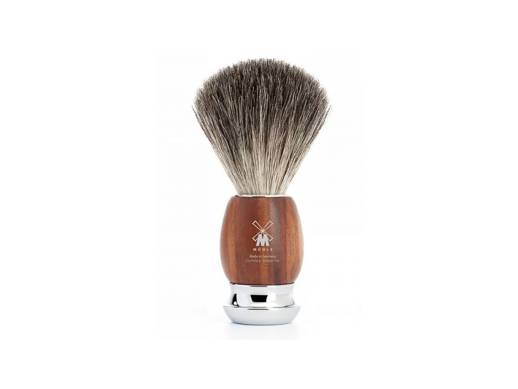 Štětka na holení Vivo Plum Tree Wood Pure Badger Mühle