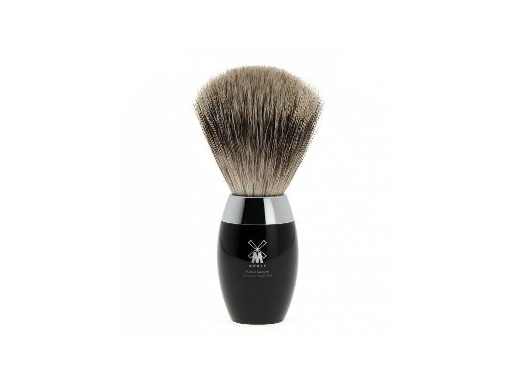 Štětka na holení Mühle Kosmo Black Fine Badger