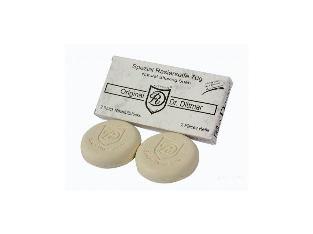 Mýdlo na holení Dr. Dittmar 2 x 70 g