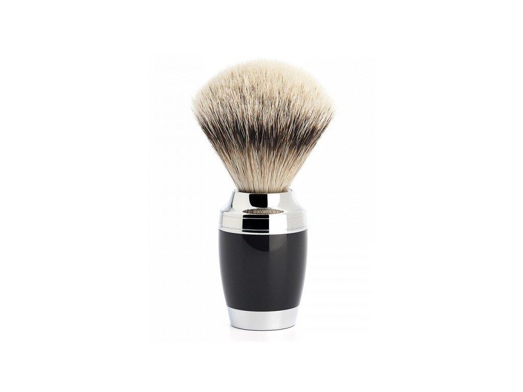 Štětka na holení Mühle Stylo Black Silvertip Badger