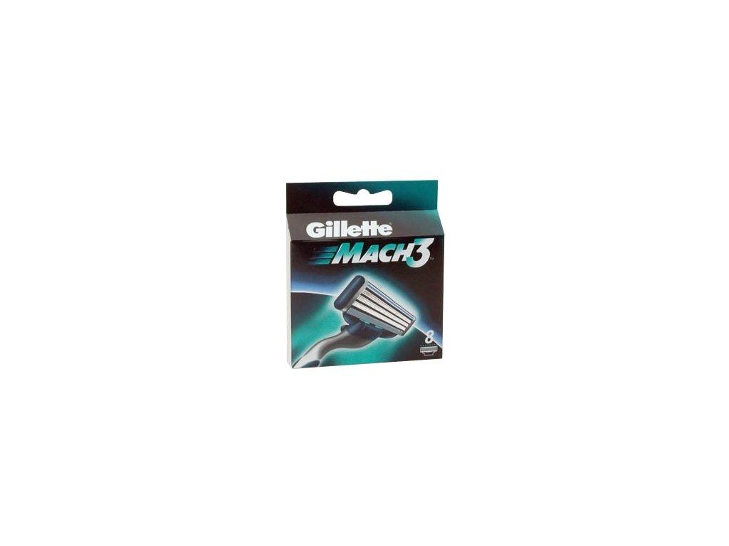 Náhradní hlavice Gillette Mach3 8 ks