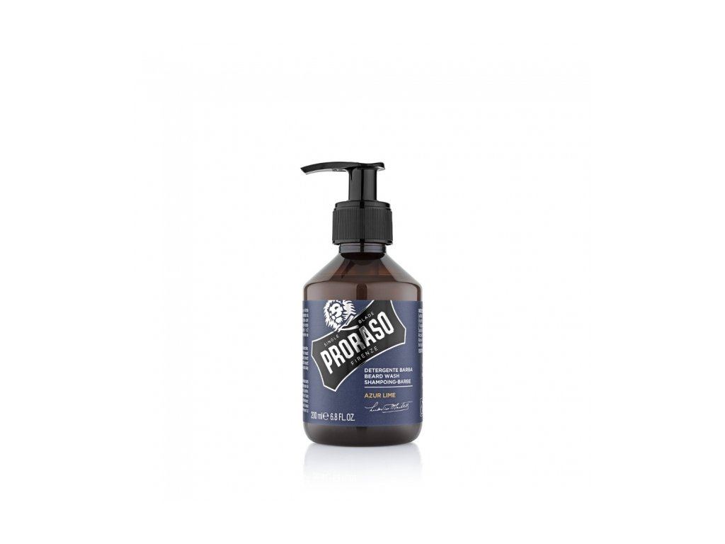 Šampon na vousy Proraso Azur Lime 200 ml