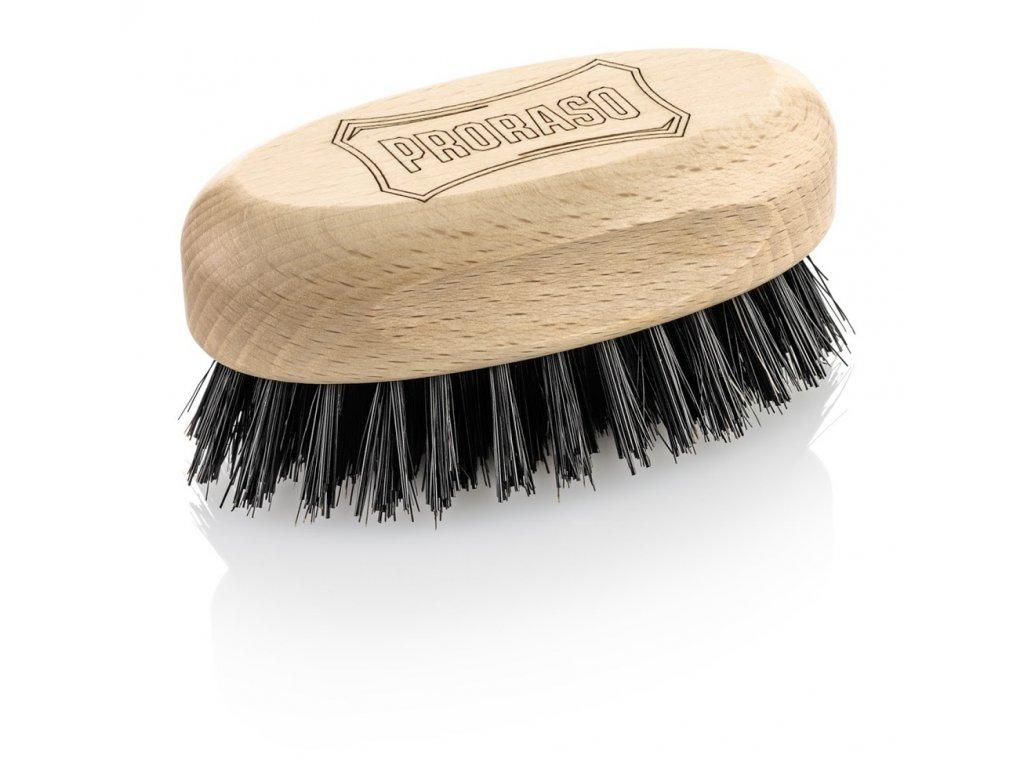Dřevěný kartáč na vousy Old Style Proraso