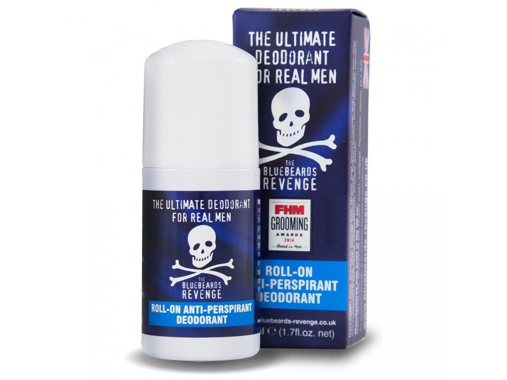 roll on deodorant s osvezujici vuni bluebeards revenge