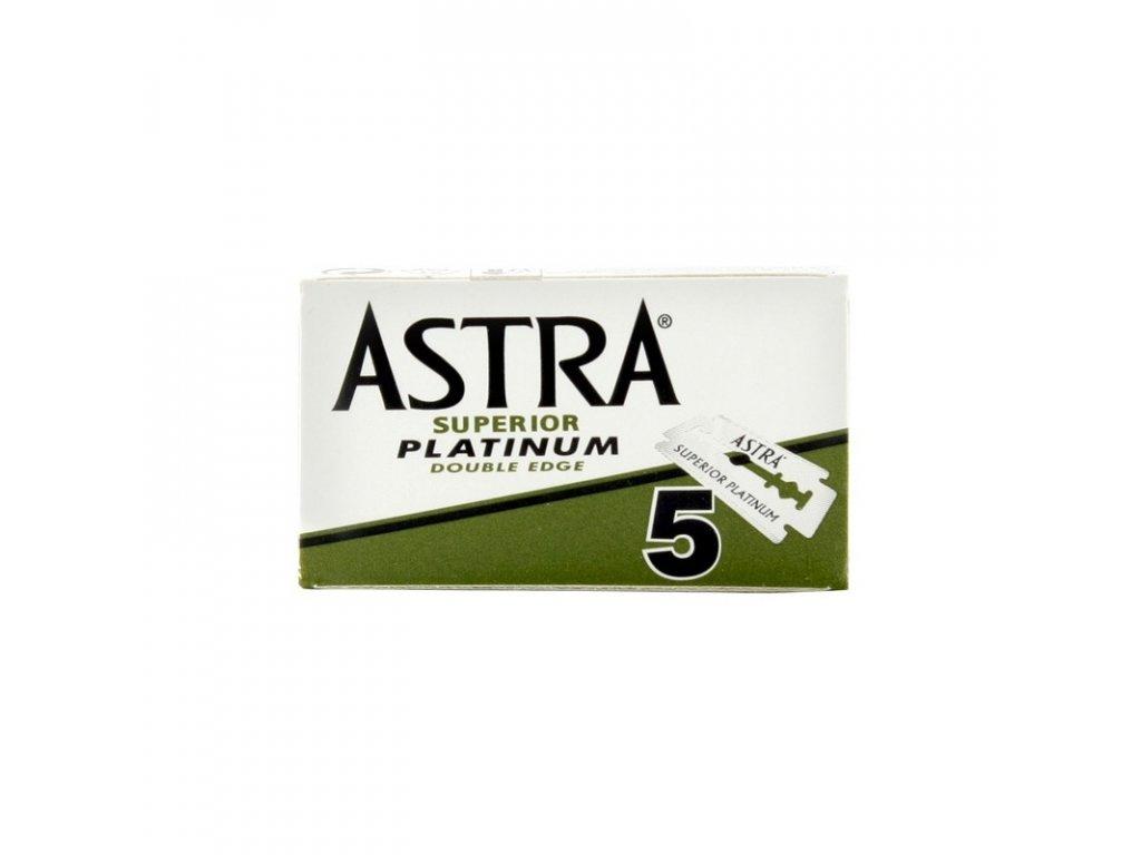 Žiletky na holení Astra Superior Platinum (5 ks)