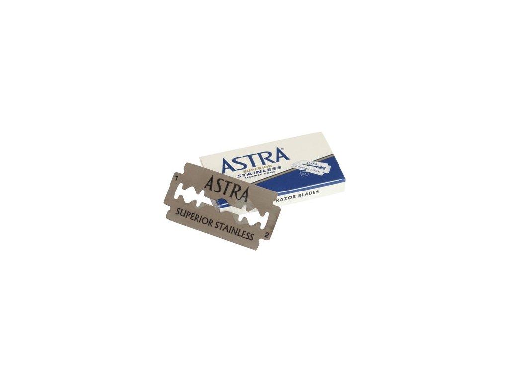 Žiletky na holení Astra Superior Stainless (5 ks)