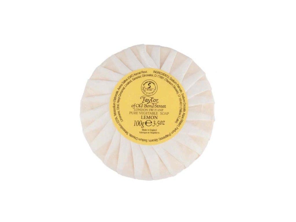 Přírodní mýdlo Taylor of Old Bond Street Lemon 100 g