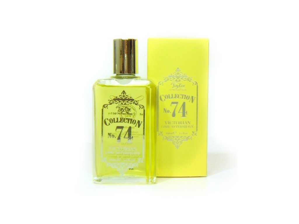Kolínská voda No. 74 Victorian Lime Fragrance Taylor of Old Bond Street 100 ml