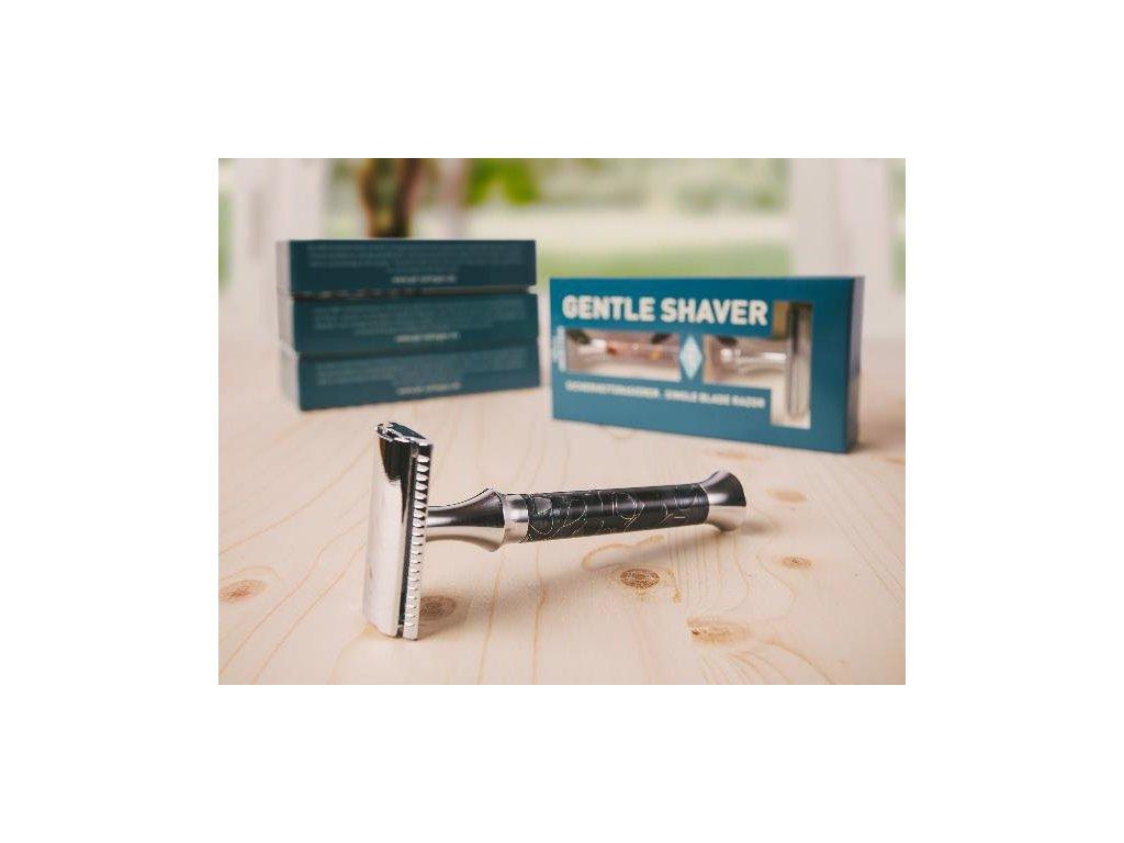 Holicí strojek Timor Gentle Shaver Black - Open Comb