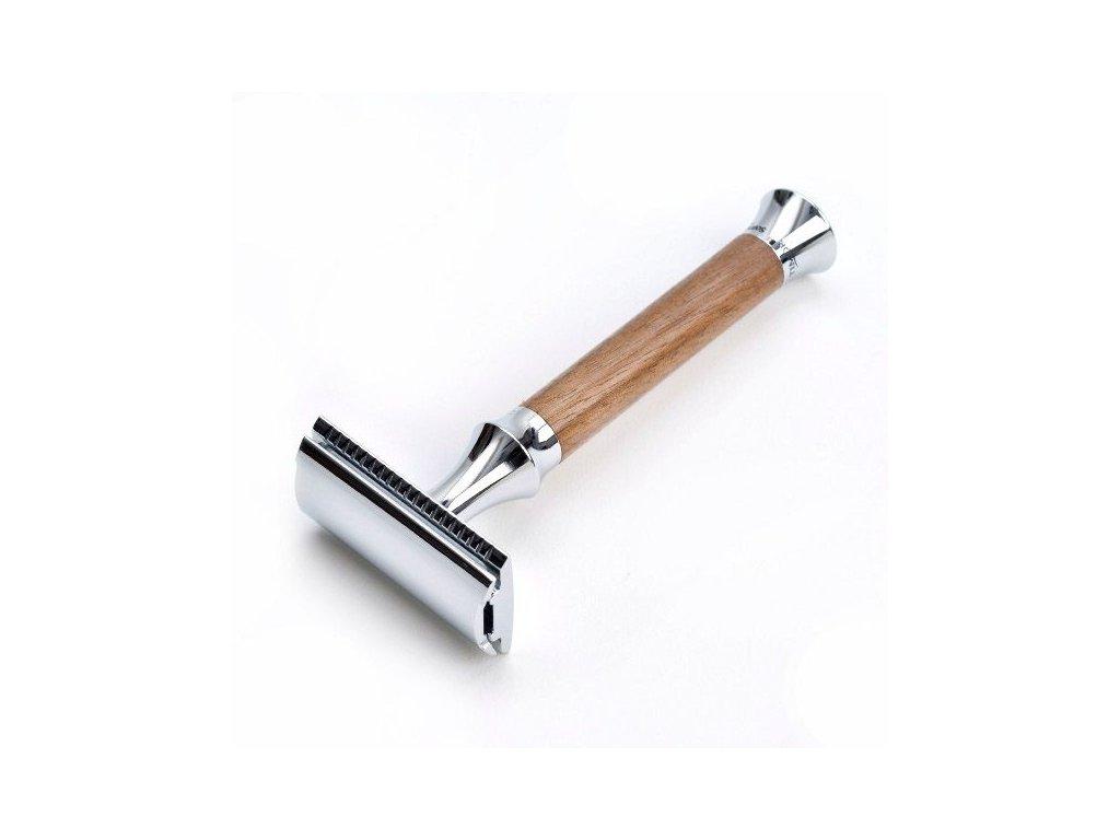 Holicí strojek Timor Walnut Wood - Closed Comb