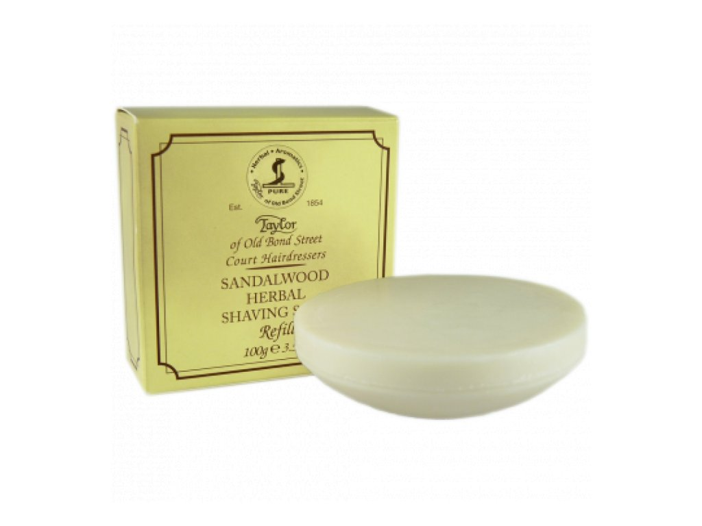 Mýdlo na holení Sandalwood Taylor of Old Bond Street 100 g